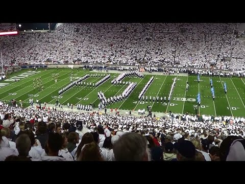 The Penn State Blue Band Pregame show.  October 25, 2014.