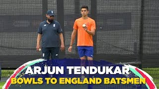Arjun Tendulkar helps England prepare for their clash against Australia