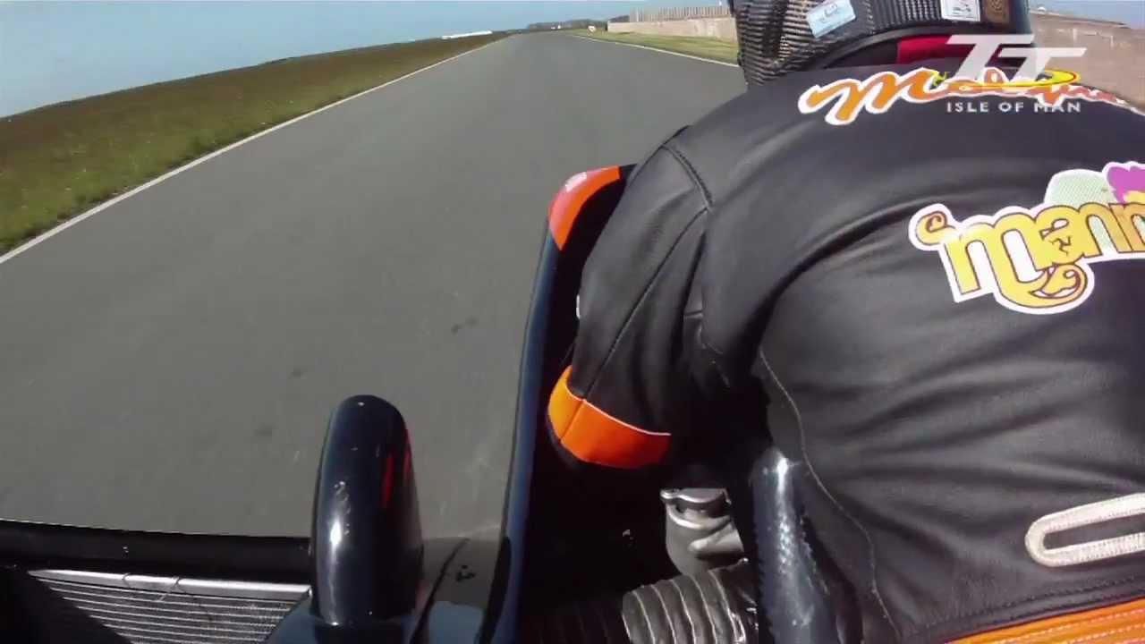 Tt 2012 Dave Molyneux Patrick Farrance Jurby Test Day Youtube Tt2011 Sidecars