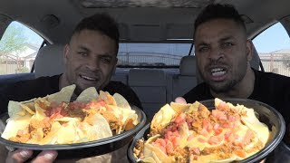 ASMR Eating Best Nachos In The World @Taco Bell