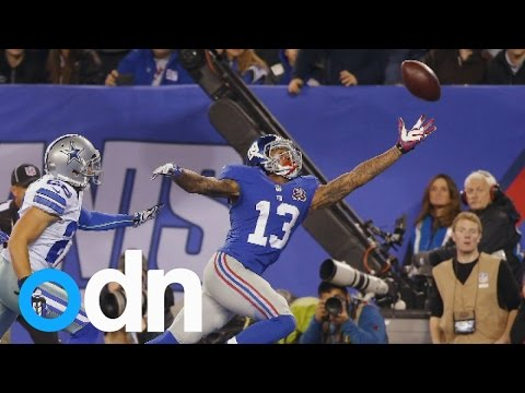 Is this the greatest catch in NFL history? Odell Beckham Jr's incredible touchdown