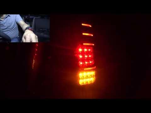 【ジムニー JB23W】エムブロ テールランプ 夜間の見え方