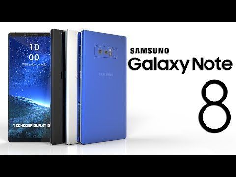 Samsung Galaxy Note 8 Real Design Based on Latest Leaks Most Updated Render on Youtube