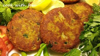 Chicken Shami Kabab - Crispy,Tasty & Delicious Kababs That Melt In Your Mouth By Cook With Fem