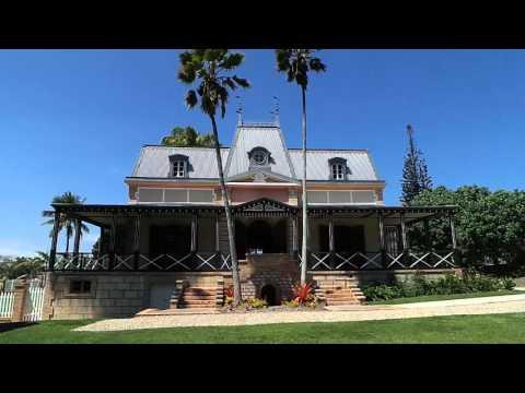 Cp54870 Plus Ancienne Maison Coloniale De Noumea Youtube
