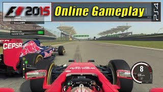 F1 2015 (PS4) - Online Gameplay - First Time ( 720p ) HD