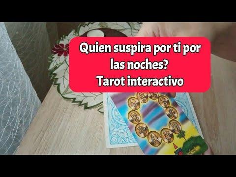 💕 Quien Suspira Por Ti Por Las Noches? Tarot Interactivo Hoy. Canalizacion. Elige Una Carta.