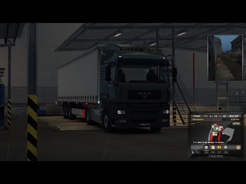 Euro Truck Simulator 2 Episode 101 Motor Oil to Sodertalje (S)