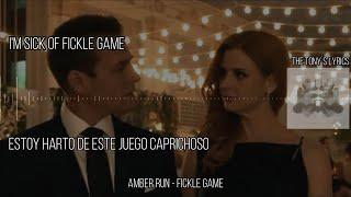Amber Run - Fickle Game | Español e Inglés | Suits Music