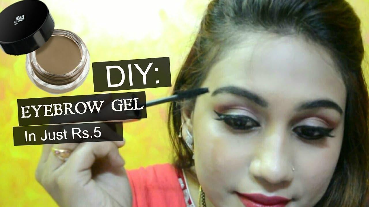 Diy Eyebrow Gel In Just Rs 5 How To Make Brow Gel Diy Brow