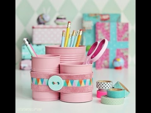 DIY Household Hacks/Recycling Cans Ideas/Can Craft Cool ...