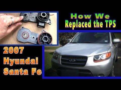 How We Replaced the TPS | 2007 Hyundai Santa Fe | StarCat70