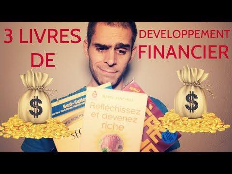Les 3 MEILLEURS LIVRES de DEVELOPPEMENT FINANCIER (19/100)