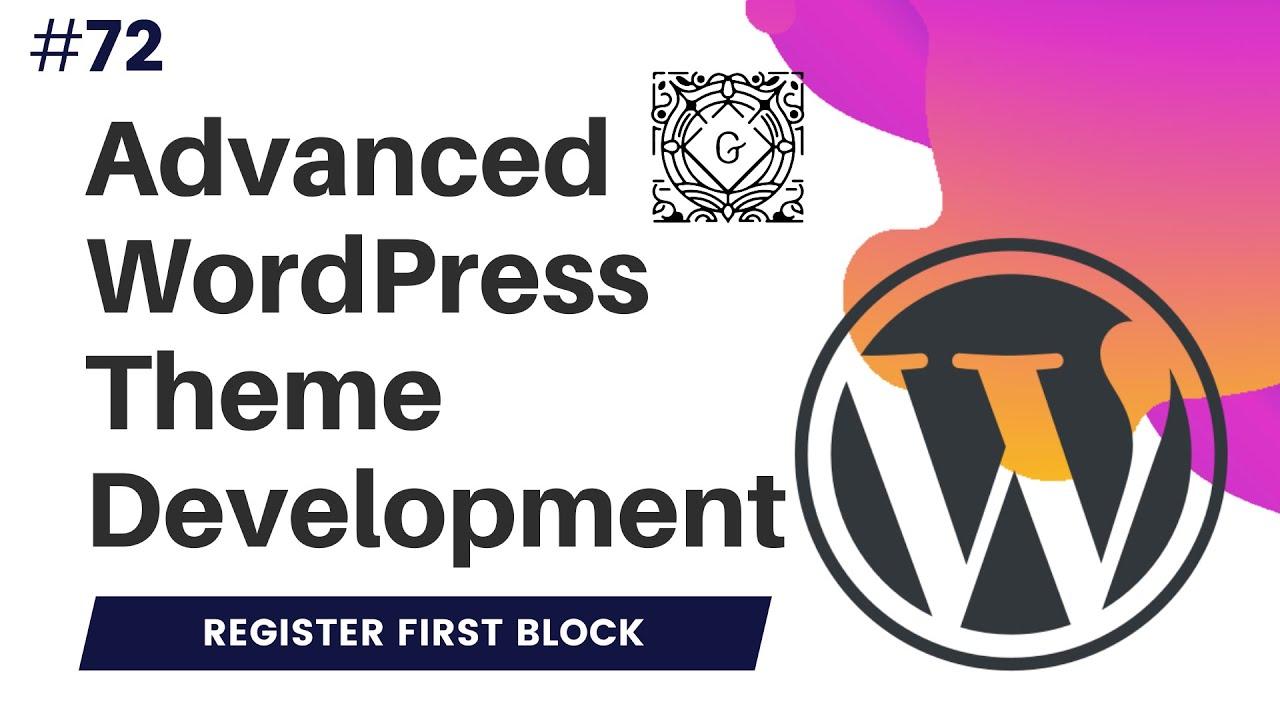 My First Gutenberg Block in React   Gutenberg WordPress Tutorial   registerBlocktype