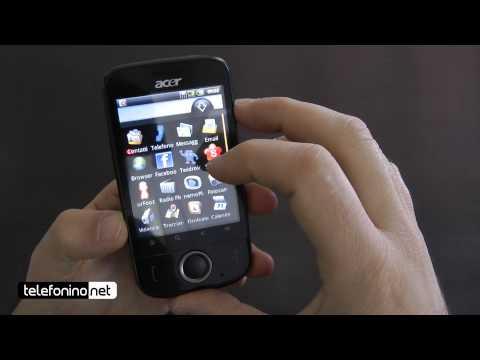 Acer BeTouch E110 videoreview da Telefonino.net