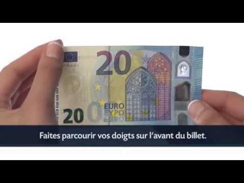 Comment Reconnaitre Un Vrai Nouveau Billet De 20 Euros Youtube