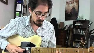 50 Jazz Blues Licks - #26 Tommy Flanagan - Guitar Lesson - David Hamburger