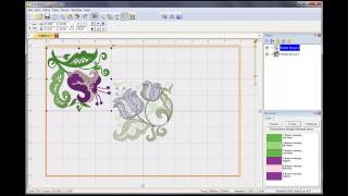 How to combine embroidery designs in Embrilliance Essentials software