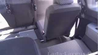 Лада Ларгус: складывание сидений второго ряда
