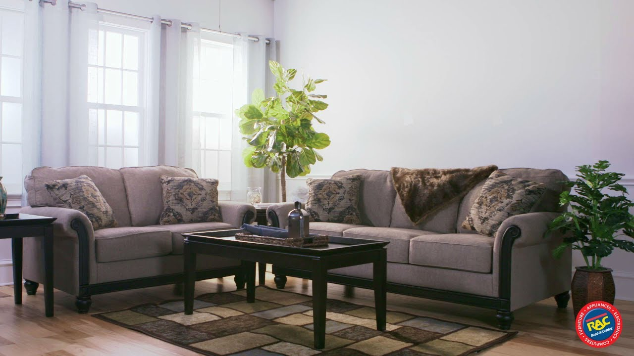 Ashley Blackwood Sofa And Loveseat Are Instant Classics By