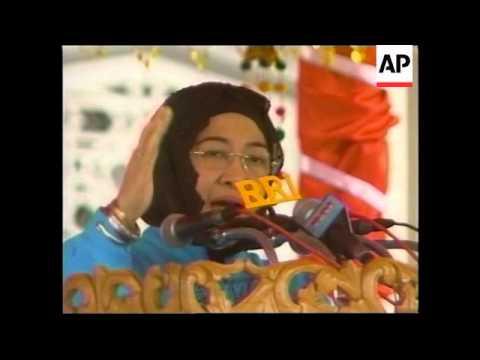 Megawati visits seperatist province