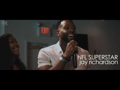 NFL Superstar Jay Richardson hosts FIVE brunch