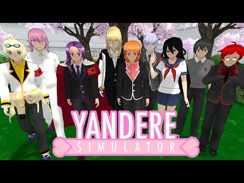 MALE RIVALS ADDED TO YANDERE SIMULATOR | Male Rival Introduction Mod