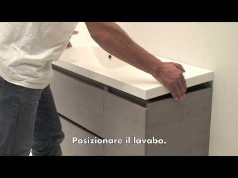 Istruzioni montaggio mobile bagno manhattan90sx.mov   youtube