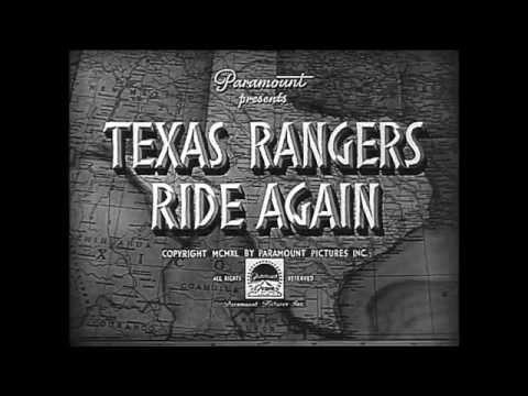 1940 - The Texas Rangers Ride Again - Generic Film