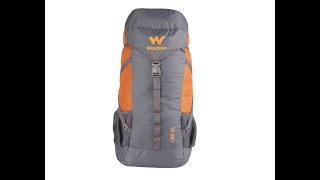 Wildcraft 45 Ltrs Orange Rucksack - Travel Bag