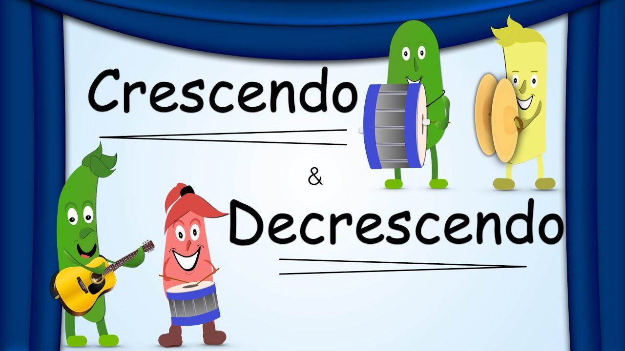Download Crescendo & Decrescendo   Dynamics   Green Bean's Music