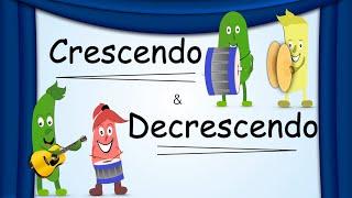 Crescendo Decrescendo Dynamics Green Bean S Music Youtube