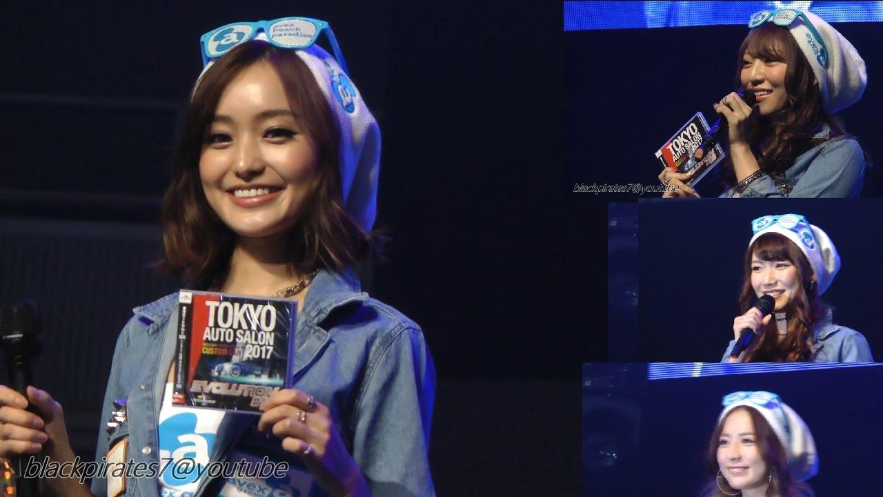 人気レースクイーン☆エイベックスキャンペーンガール美女4名 東京オートサロン2017