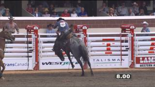 Day 7 rodeo highlight action from the Calgary Stampede -- July 10, 2014