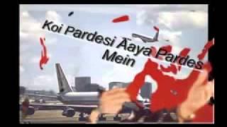 """Koi Pardesi Aaya Pardes Mein""   Anwar Keeps Mohd Rafi Alive."
