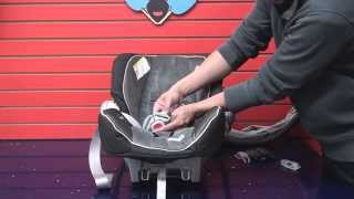 Graco SnugRide 35: Cleaning Car Seat Part 2