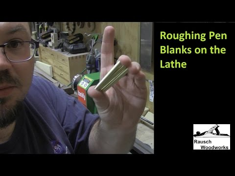 Quick Tip - Roughing Brass Pen Tubes On The Lathe