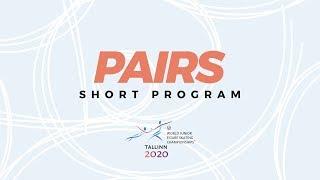 Pairs Short Program ISU World Junior Figure Skating Championships WorldJFigure