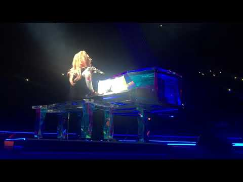 """Lady Gaga """"The Edge of Glory"""" Dedication and Story Live @ Golden 1 Center @ Joanne World Tour"""
