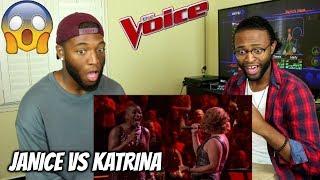 "The Voice 2017 Battle - Janice Freeman vs. Katrina Rose: ""W.O.M.A.N."" (REACTION)"