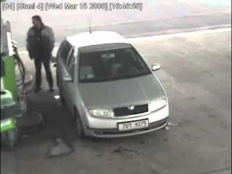 Thumbnail: Man Gets Hit By Tyre At Gas Station - Freak Accident