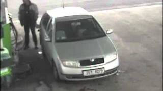 Man Gets Hit By Tyre At Gas Station - Freak Accident