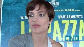 Intervista a Micaela Ramazzotti, protagonista de La pazza gioia