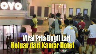 HEBOH!!! Pria Bugil Lari Keluar Hotel, Ngaku Ditelanjangi Hingga Diperas Waria Di Kamar