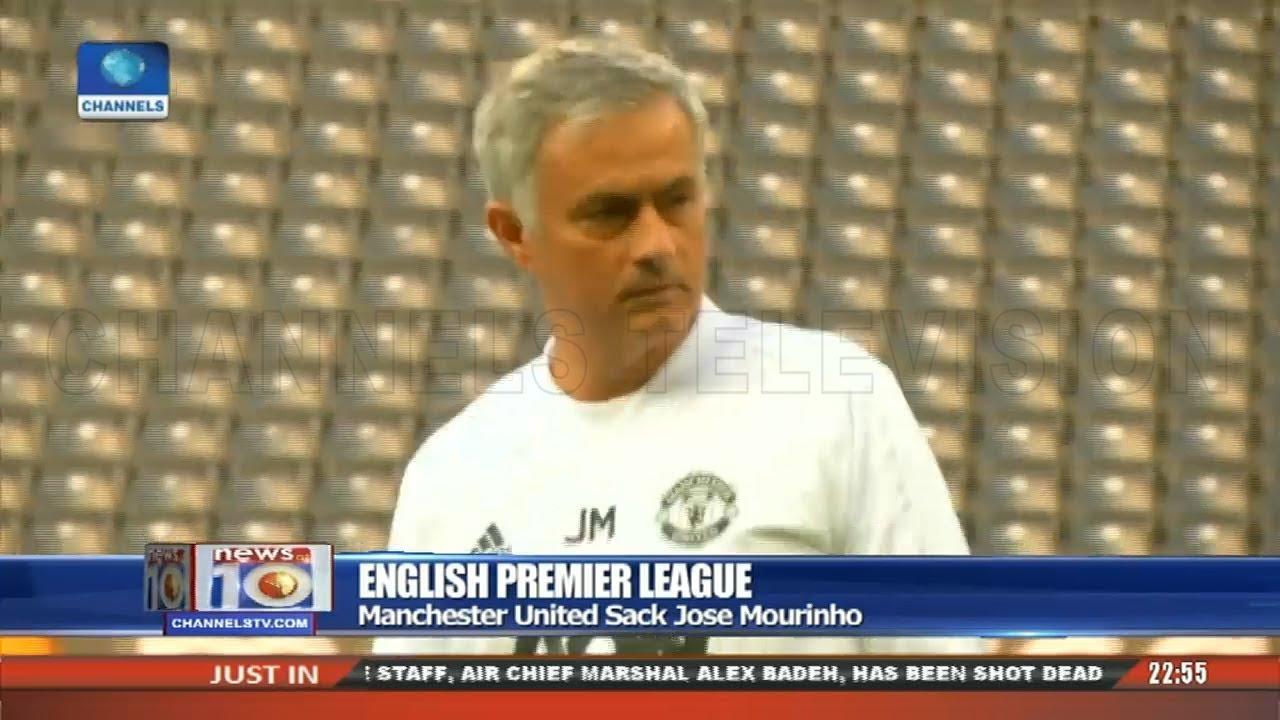 Manchester United Sack Jose Mourinho 18/12/18 Pt.4 |News@10|