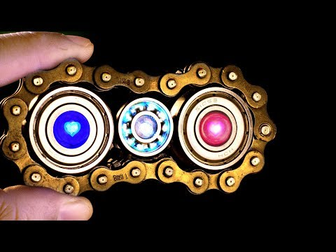 Thumbnail: HOW TO MAKE A GLOWING LED METAL FIDGET SPINNER IN 2 MINUTES - DIY Home Made