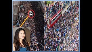 Sunny Leone in Kerala and she receives a jaw-dropping welcome |