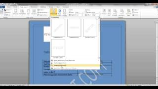 How to change MS-Word Layout using Open XML for SAP