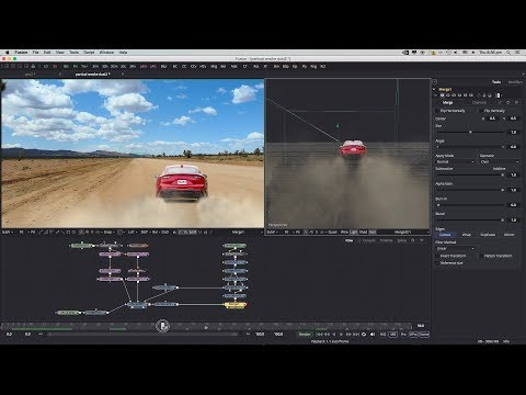 Magic of Particles | 3D Dust Particles Easy & powerful in Fusion with Matte Painting | Tutorial