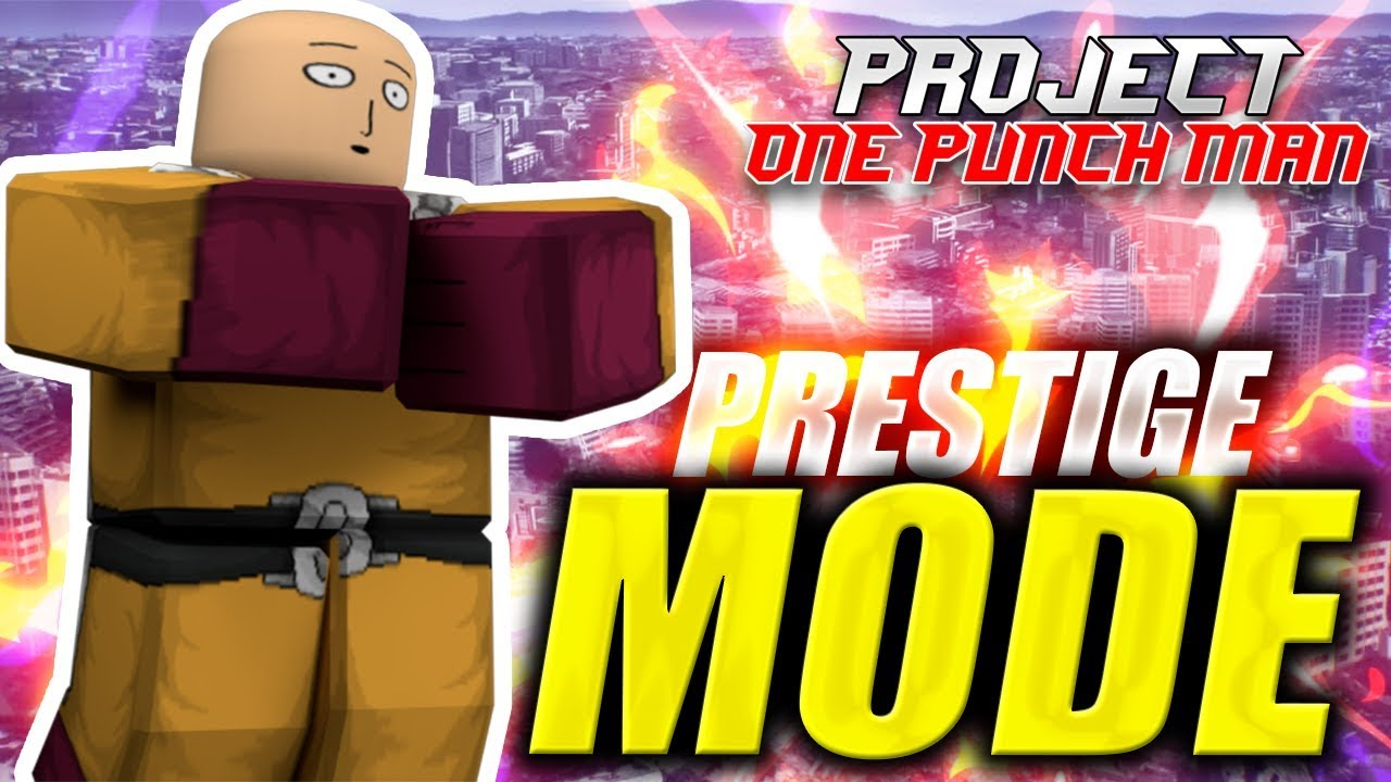 one punch man online game moved roblox Prestige Transformation Project Opm In Roblox One Punch Man Ibemaine Youtube
